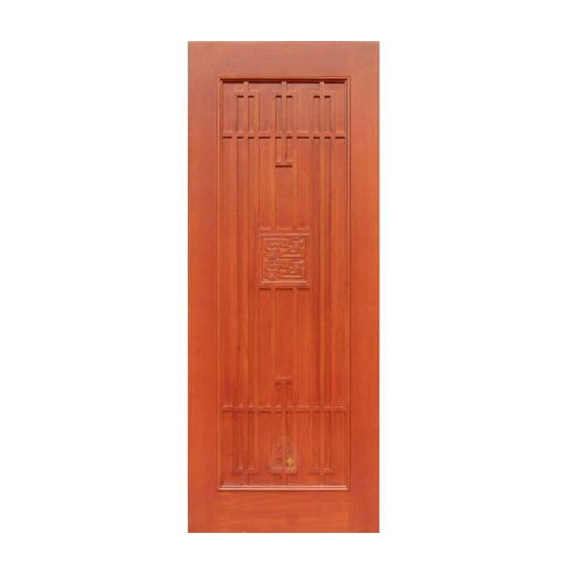 Original wood door